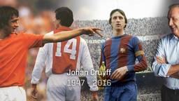 Johan '14' Cruijff is overleden (foto World of Cruyff)