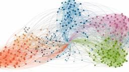 Een vorm van datawetenschap: hoe iemand op LinkedIn is verbonden met anderen (foto: Paul Downey).