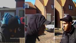 De foto's met daarop de daders (foto: Bureau Brabant).