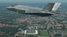 De JSF, een van de toestellen waarvoor vliegeniers in eerste instantie op vliegbasis Woensdrecht worden opgeleid (foto: archief).