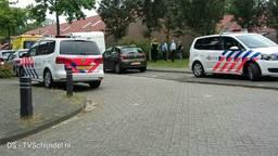 De politie onderzoekt het ongeluk. (Foto: TV Schijndel)