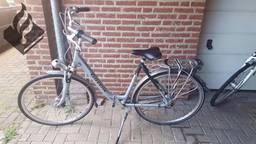 Een van de fietsen die door de politie is aangetroffen (foto: Politie Eindhoven)