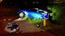 Hoe het ongeluk kon gebeuren is niet duidelijk. (Hans van Hamersveld/Kijkenklik Media)