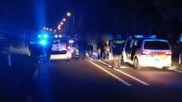 De verdachten werden aangehouden op de N329. (Foto: Facebook politie Oss)