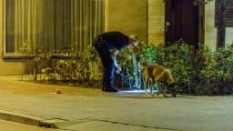 De politie deed onderzoek. (Foto: Jack Brekelmans/Persburo-BMS)
