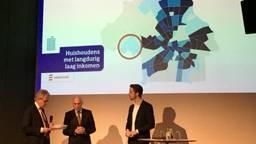 De presentatie van het Urban Data Center (foto: Pepijn Nagtzaam)