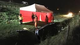 Hoe het ongeluk kon gebeuren, is nog onduidelijk.(Foto: GinoPress)