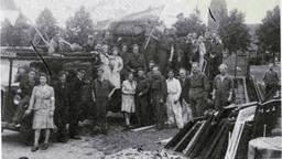 Rechts op de foto een rijtje met ledikanten - wellicht van Van Gogh? (foto via Jan Tunnissen)