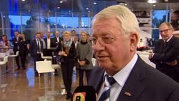 Wim van der Leegte tijdens zijn laatste werkdag in 2016.