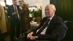 De baron op zijn honderdste verjaardag. (Foto: Birgit Verhoeven)