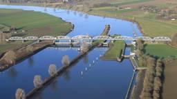Waterschap in Brabant (Foto: Twitter/Waterschap Rivierenland).