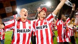 Simons en Cocu werden in 2007 samen kampioen bij PSV. (Foto: VI Images)