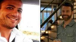 Geert Hoes (links) en John Guntlisbergen