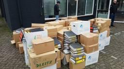 Het archief van de gemeente Waalre is gered.
