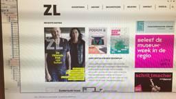 De website van Zuiderlucht.