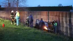 Hoe het ongeluk kon gebeuren, is niet bekend. (Foto: Gabor Heeres/SQ Vision)
