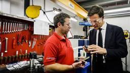 Flowserve Roosendaal had vorig jaar als voorbedrijf nog de premier op bezoek.
