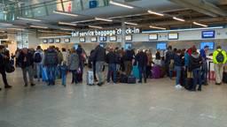 De bagage-inname op Eindhoven Airport