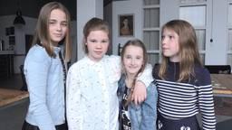 Vier van de achttien kinderen
