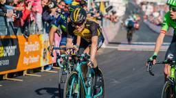 Steven Kruijswijk in actie in de Giro (foto: OrangePictures)
