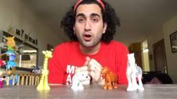 Volkan in één van zijn video's