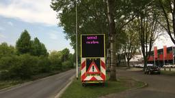 De tekstkar die onheuse opmerkingen maakt (foto: Pepijn Nagtzaam)