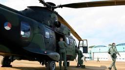 Een Cougar-helikopter (archieffoto: John Kuijsters)