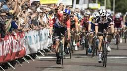 Dylan Groenewegen wint de sprint in Ster ZLM Toer (foto: Wouter Roosenboom).