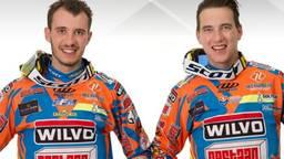 Nicolas Musset (L) en Etienne Bax (R)