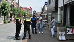 De politie onderzoekt de zaak. Foto: FPMB / Marvin Dor¬eleijers