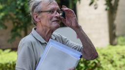 Cees Engel verlaat de rechtbank. (Foto: Tom van der Put/SQ Vision Mediaprodukties)