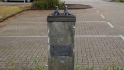 Alleen de pootjes staan nog in Elshout (Foto:Anja van Beek)