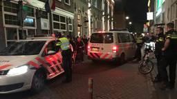 De politie moest verschillende keren in actie komen. (Foto: Bart Meesters)