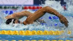 Ranomi Kromowidjojo in de halve finale van de honderd meter (foto: OrangePictures),