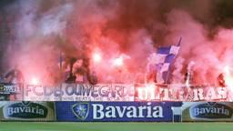 Supporters van FC Den Bosch. (Foto: VI Images)