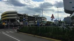 De ingestorte parkeergarage (foto: Hans Janssen).