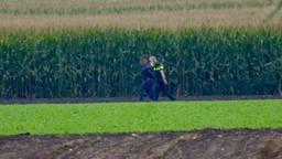 Een van de aangehouden boeven. (Foto: Jeroen Stuve/Stuve Fotografie)