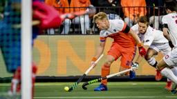 Mink van der Weerden in actie. (FOTO: ANP)
