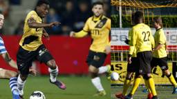 Gele tenues op de Brabantse voetbalvelden.