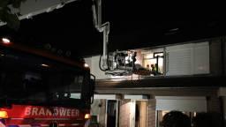 De brandweer heeft een hoogwerker ingezet. (foto: FPMB Erik Haverhals)