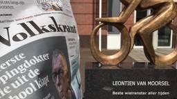 In Boekel geloven ze niets van het doping verhaal in de Volkskrant (Foto: René van Hoof)