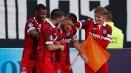 Heerenveen won in Tilburg (foto: VI Images)
