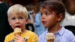 De ijsjes waren in trek op Lepeltje Lepeltje (foto: Lobke Kapteijns).