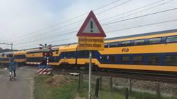 De spoorwegovergang aan de Spieksestraat in Zegge (Foto: Imke van de Laar)