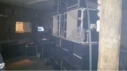 De ruimte waar de houseparty plaatsvond. (Foto: Twitter Mieke Bode)
