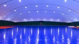 In de hal komen twee zaalhockeyvelden (Foto: HC Tilburg)