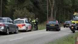 De politie actie in Maarheeze (Foto: Ginopress).