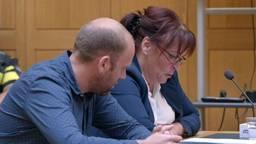 Yolanda in de rechtszaal (Foto: RTL).