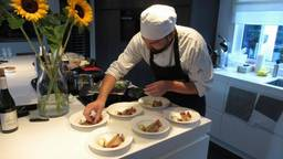 Lucas in actie. (Foto: The Wasted Chef)