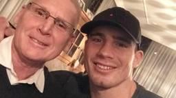 Rico Verhoeven en zijn vader (foto: Rico Verhoeven/Instagram)